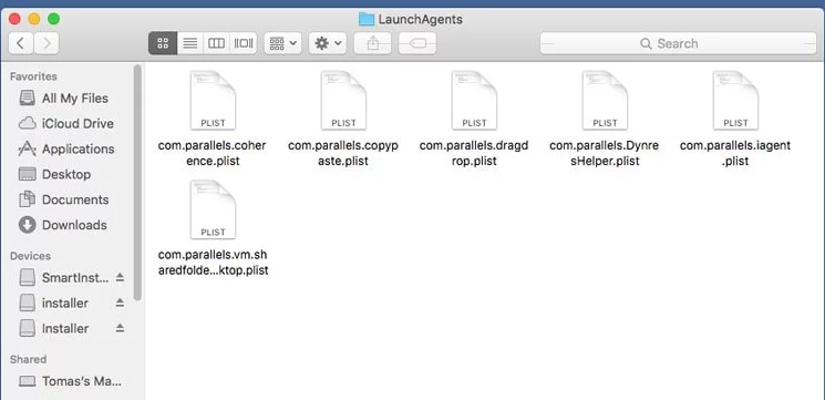uninstall CouponsSearch Search Virus on mac