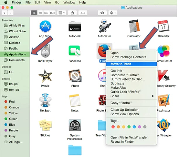 uninstall sss on mac