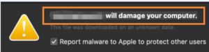 """""""LaunchEntryd"""" will damage your computer Mac Malware"""