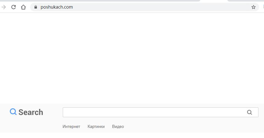 Poshukach.com Search Hijacker