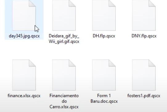.qscx File Ransomware