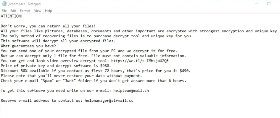 Hhqa Ransomware