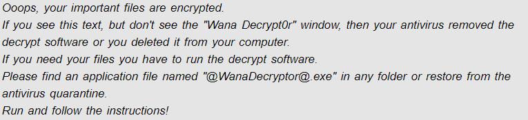 .Notwanna extension Virus