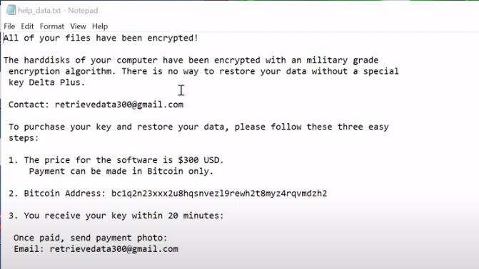 Retrievedata300@gmailcom Virus