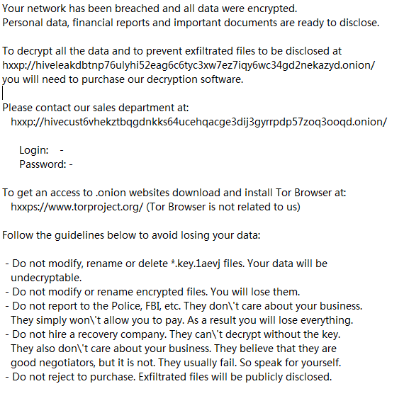1aevj ransomware